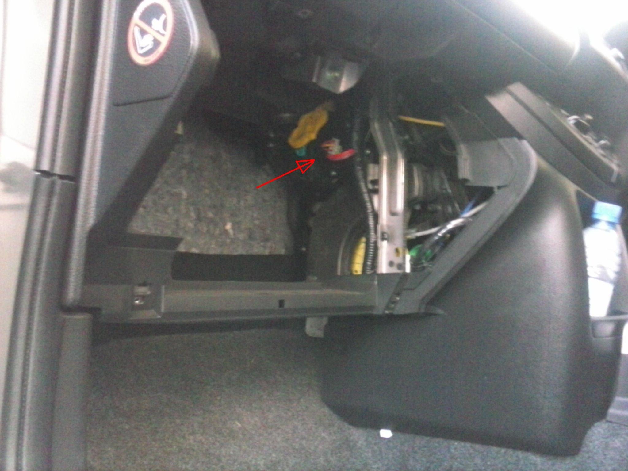 heater control module in situ